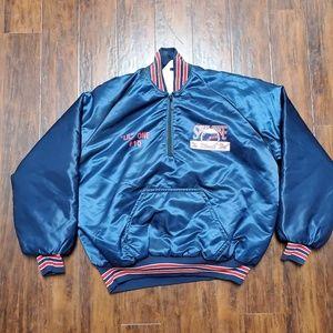 70s to 80s Vintage Sports wear jacket. 100% Nylon
